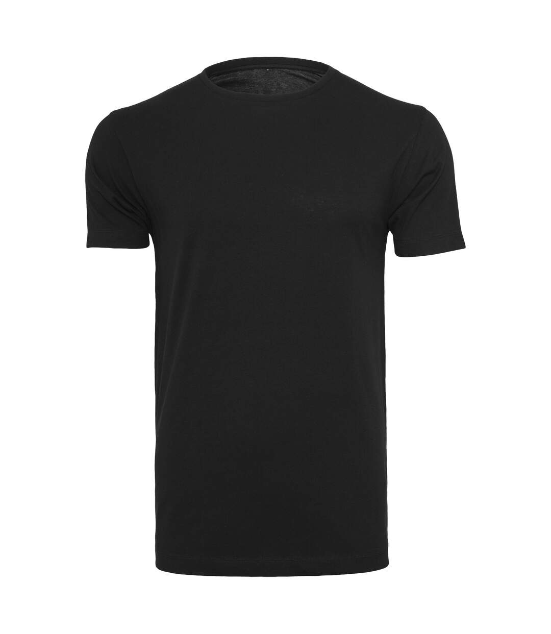 Build Your Brand Mens Light T-Shirt Round Neck (Black) - UTRW5816