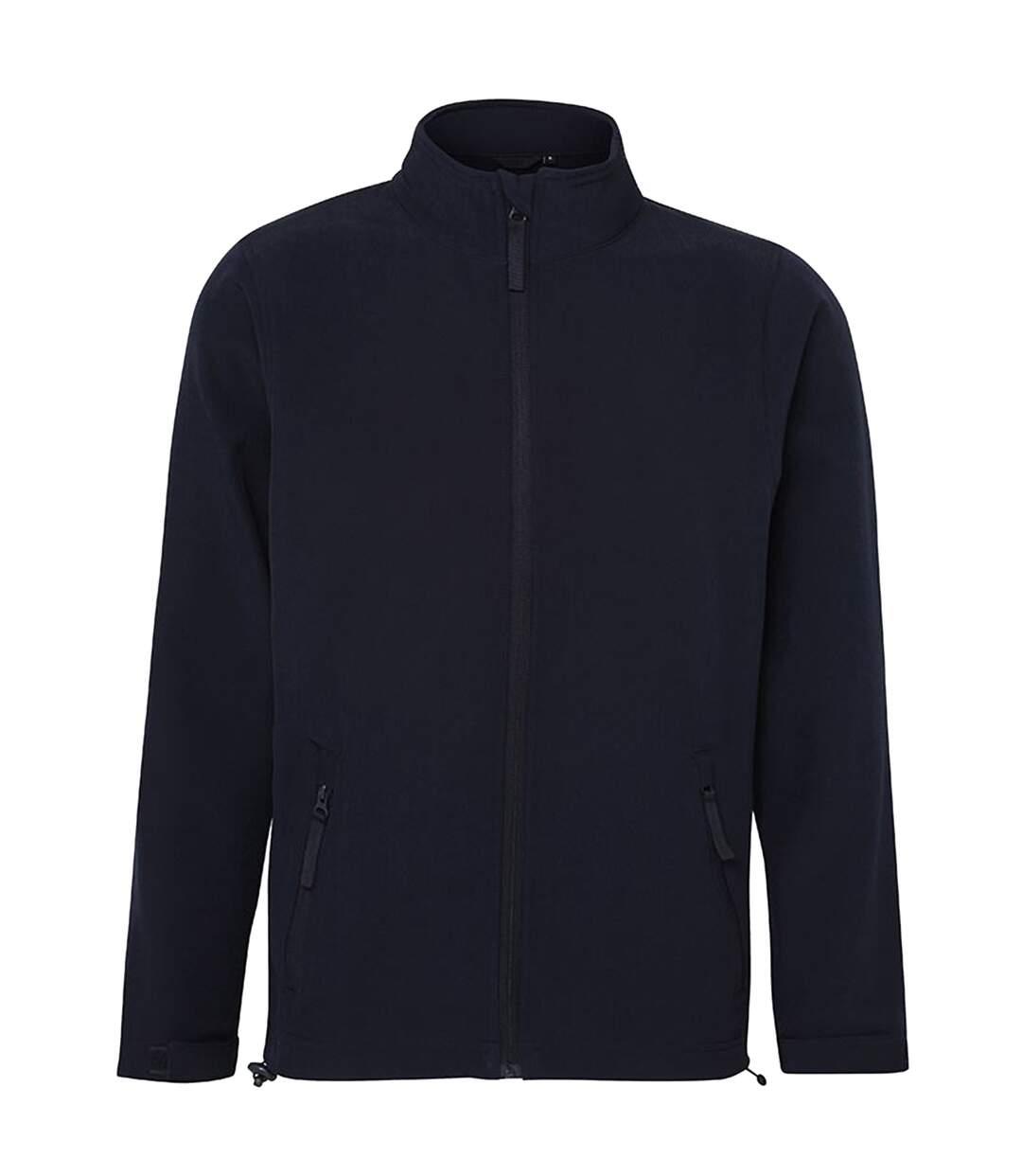 RTXtra Mens Classic 2 Layer Softshell Jacket (Navy) - UTRW5579