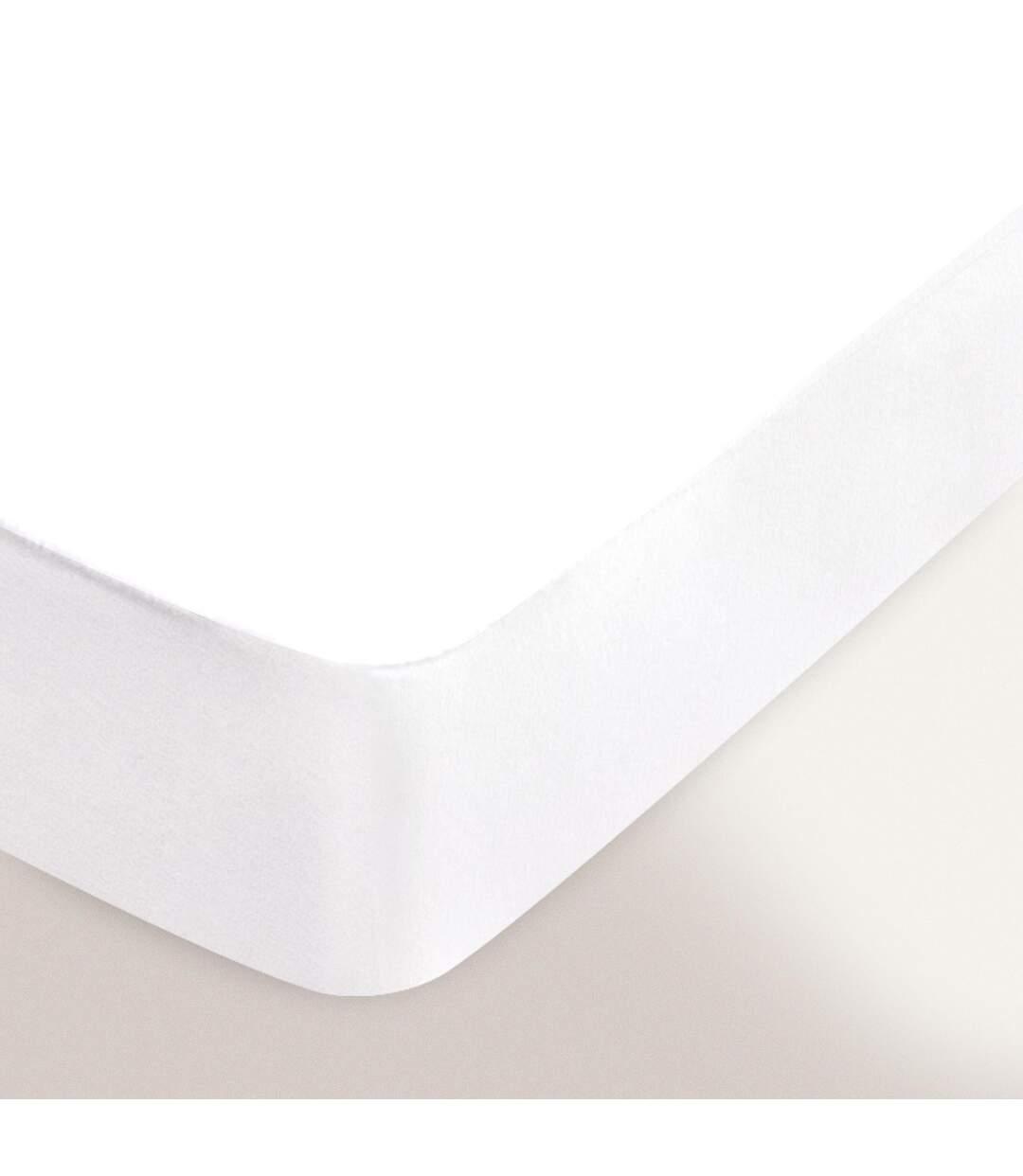 Protège matelas imperméable Antony blanc 130x200