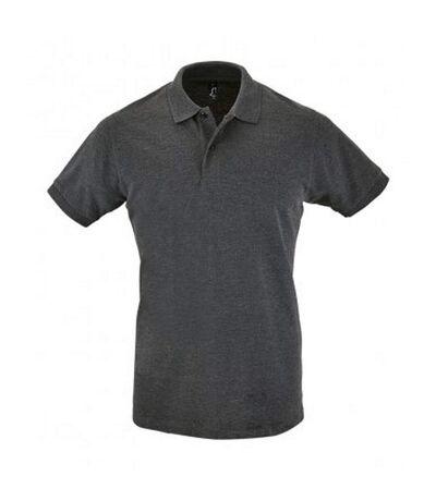 SOLS Mens Perfect Pique Short Sleeve Polo Shirt (Black) - UTPC283