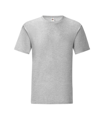 Fruit Of The Loom Mens Iconic T-Shirt (Pack Of 5) (Heather Grey) - UTPC4369