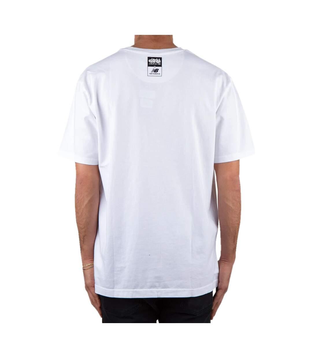 T-Shirt blanc homme New Balance Artist Pack Stride