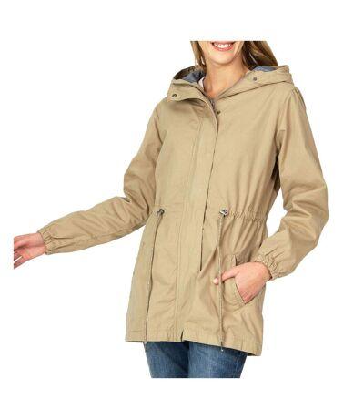 Manteau beige femme TBS Mycmanto