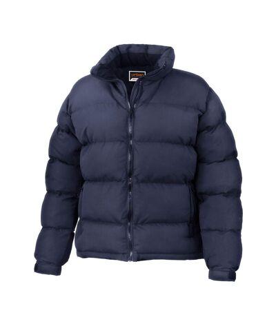 Result Womens/Ladies Urban Outdoor Holkham Down Feel Performance Jacket (Navy Blue) - UTBC3051