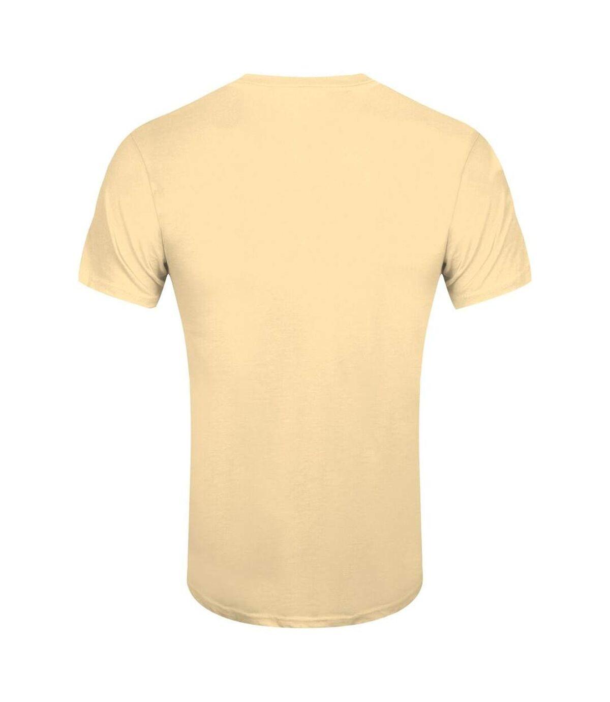 Grindstore Mens Symbolic Viking T-Shirt (Haze Yellow) - UTGR2899