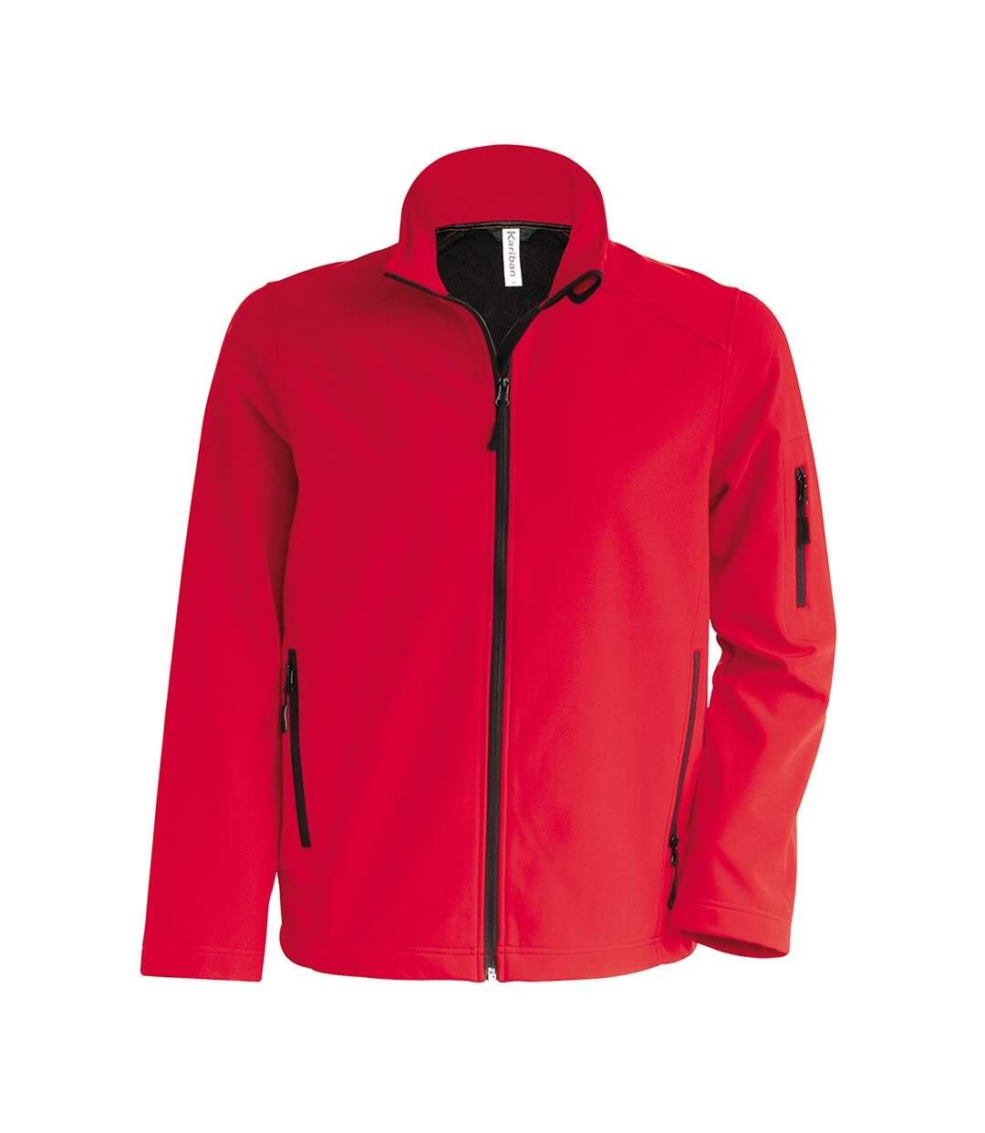 Kariban Mens Soft Shell Jacket (Red) - UTPC3824