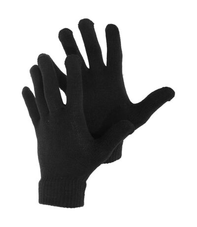 Gants tricotés - Homme (Noir) - UTGL574