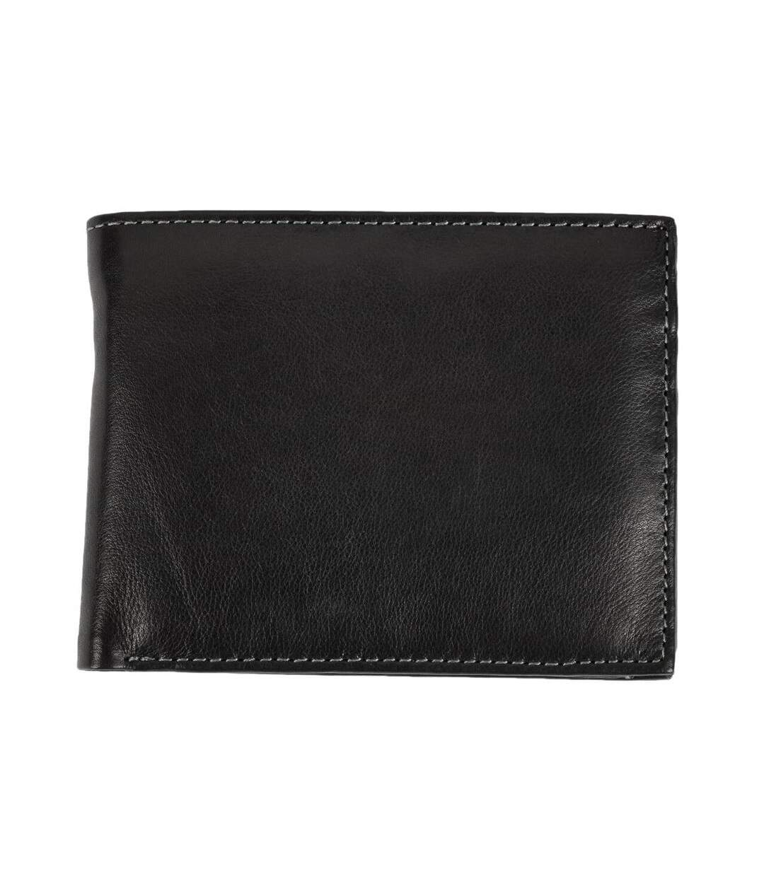 Eastern Counties Leather - Portefeuille À Trois Volets - Homme (Noir) - UTEL323