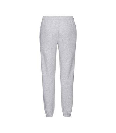 Fruit Of Loom Mens Classic 80/20 Elasticated Sweatpants (Grey Heather) - UTRW7050