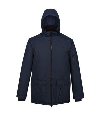 Regatta Mens Stypher Hooded Padded Jacket (Nightfall Navy) - UTRG5431