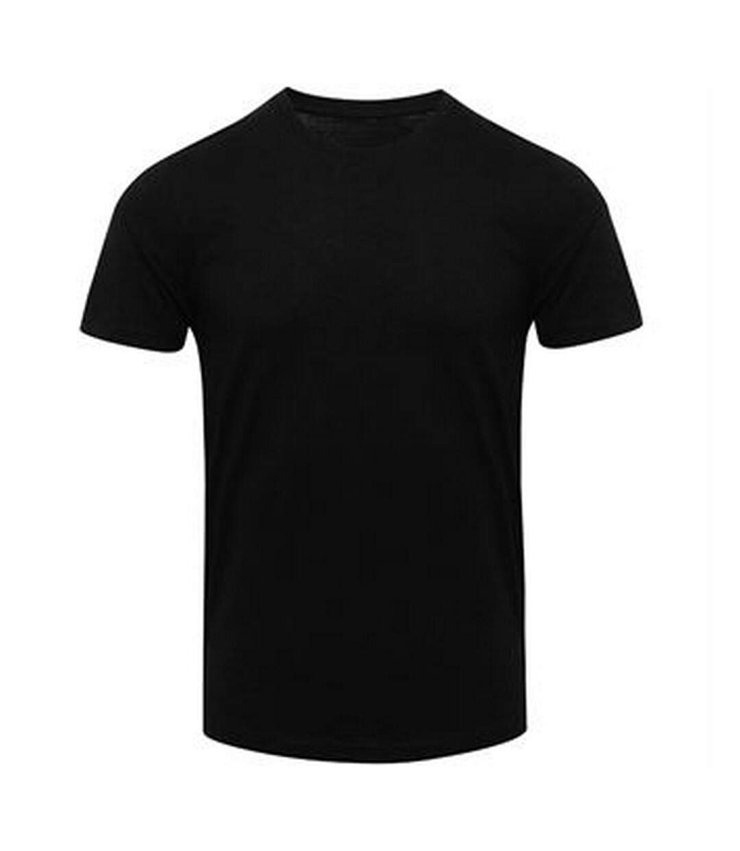 AWDis Mens Tri Blend T Shirt (Solid Black) - UTPC2894