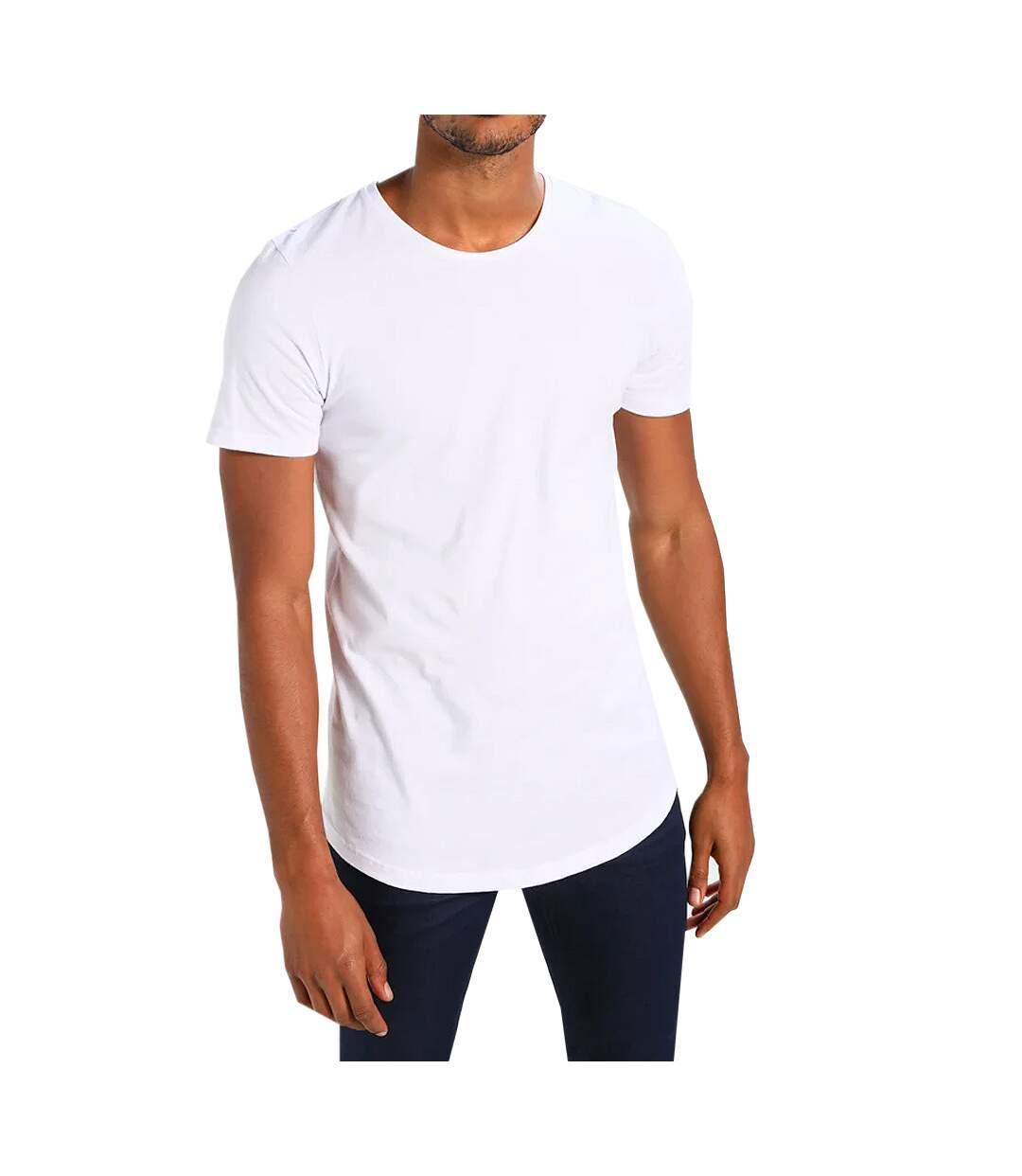 T-shirt Blanc Homme Jack & Jones CREW NECK