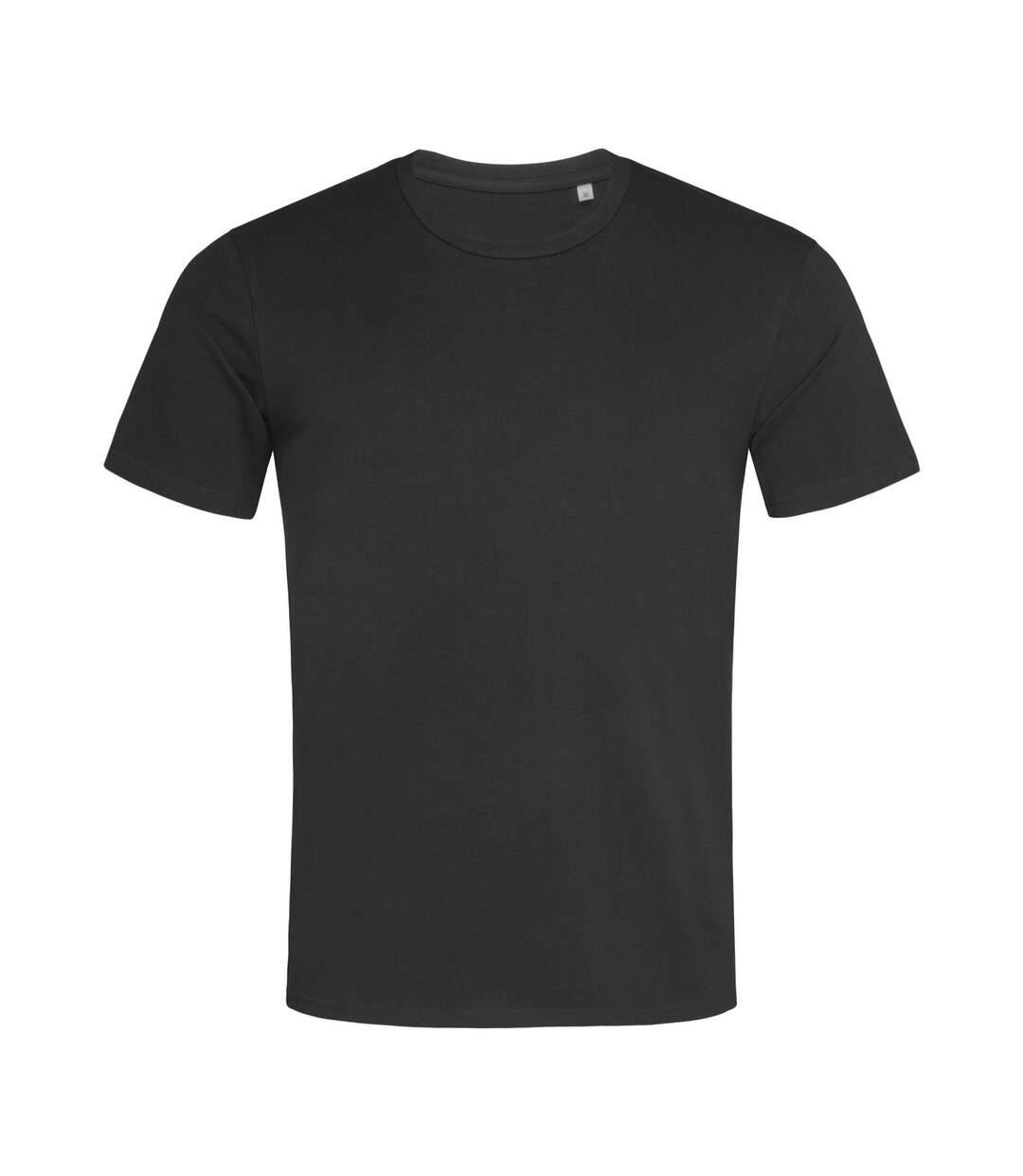 Stedman Mens Stars T-Shirt (Black Opal) - UTAB468