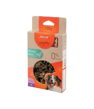 Biscuits pour chiens riches en canard Woofies 100gr