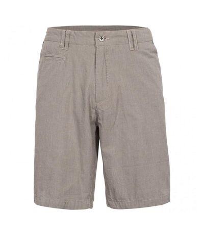 Trespass Mens Miner Travel Shorts (Oatmeal Check) - UTTP4687