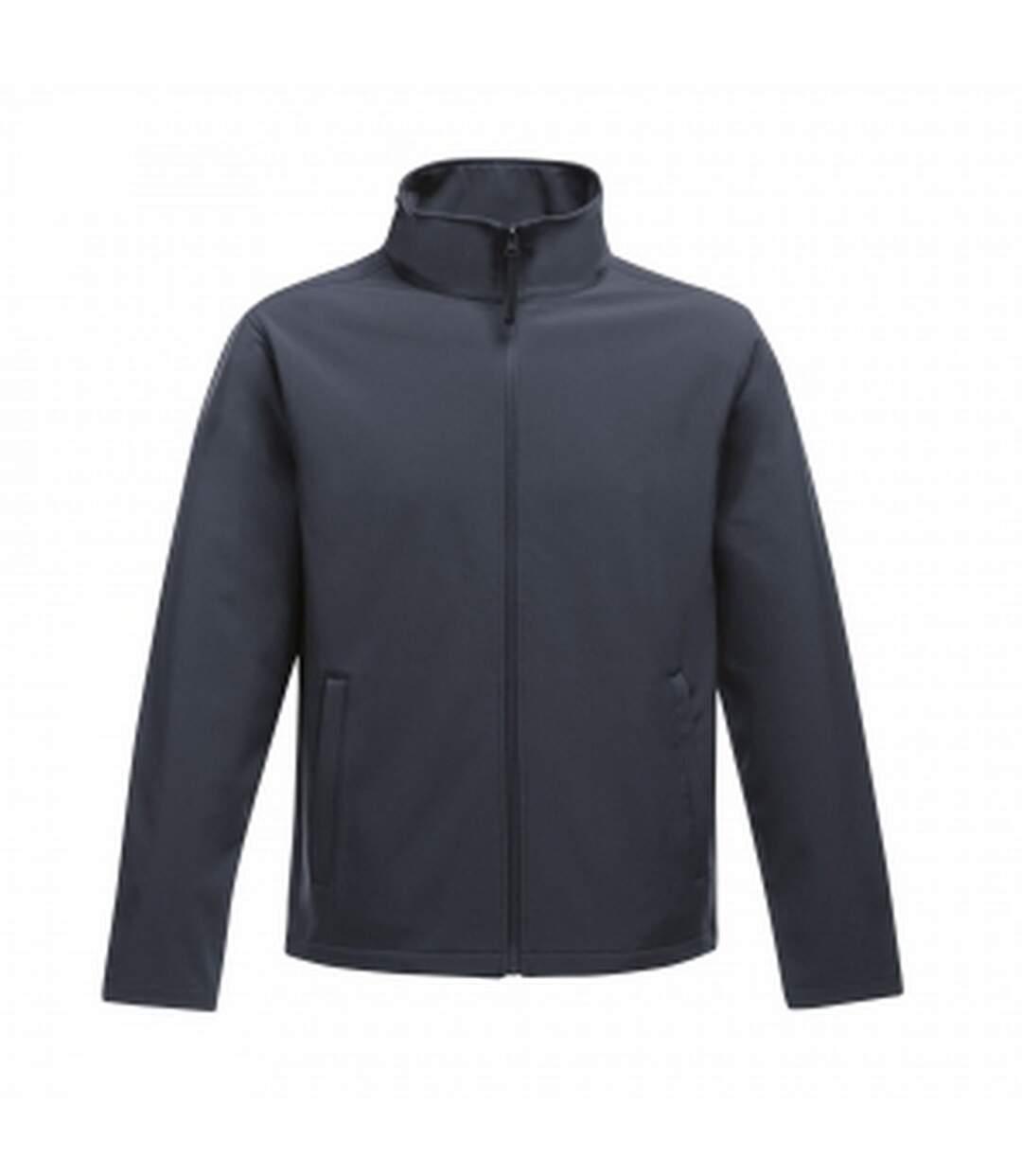 Regatta Mens Ablaze Printable Softshell Jacket (Navy/Navy) - UTRG3560
