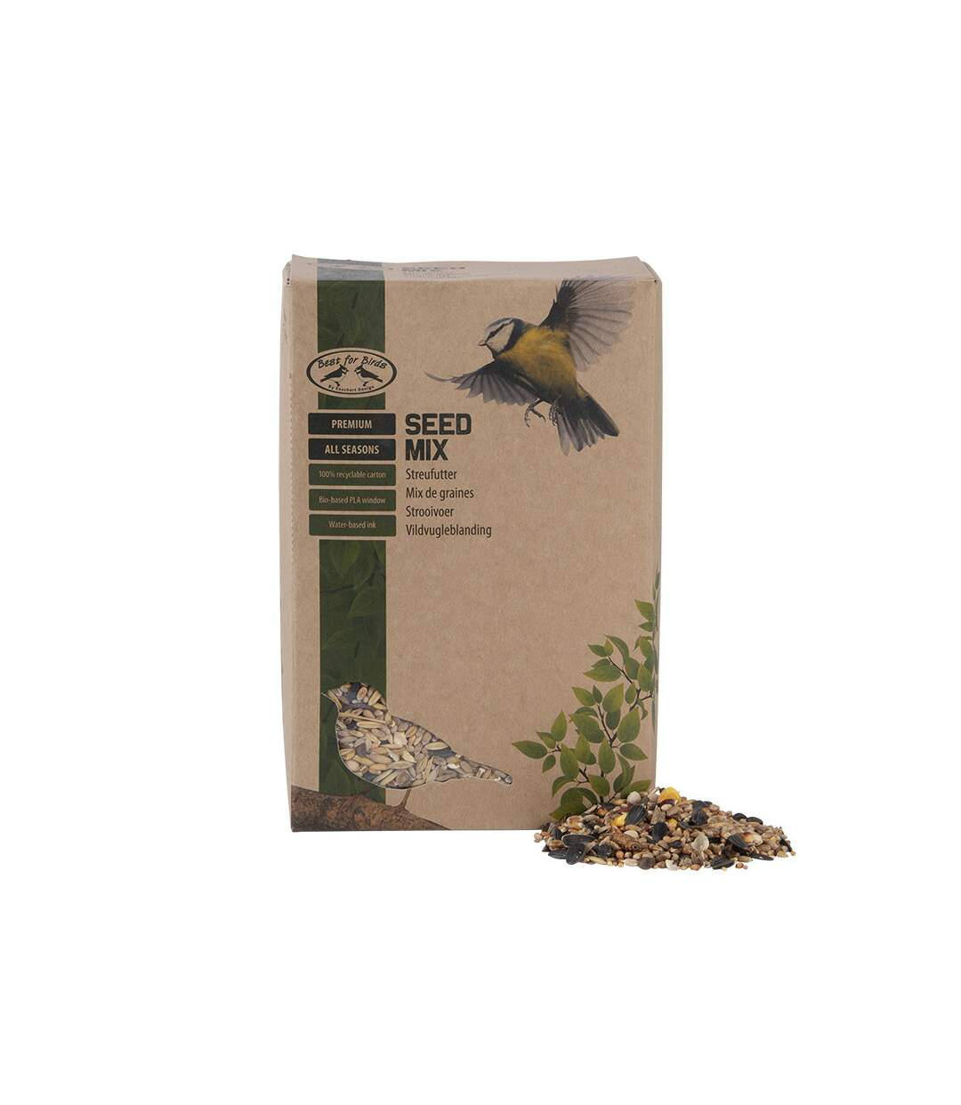Mix de graines 4 saisons 2,5kg pour oiseaux