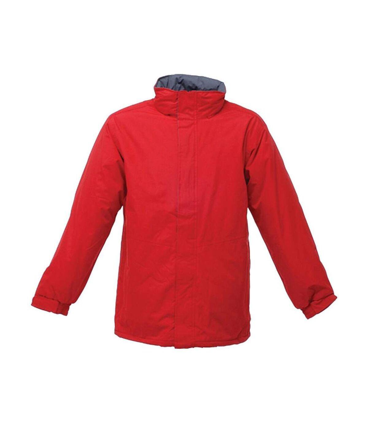 Parka imperméable pour homme TRA361 - rouge