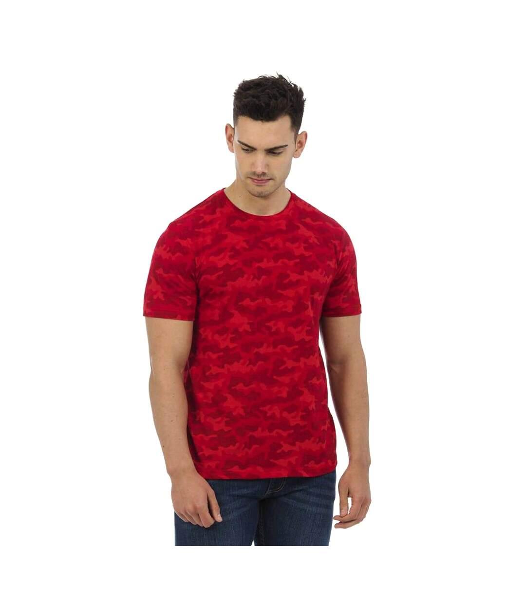 AWDis Mens Camouflage T-Shirt (Red Camo) - UTPC2978