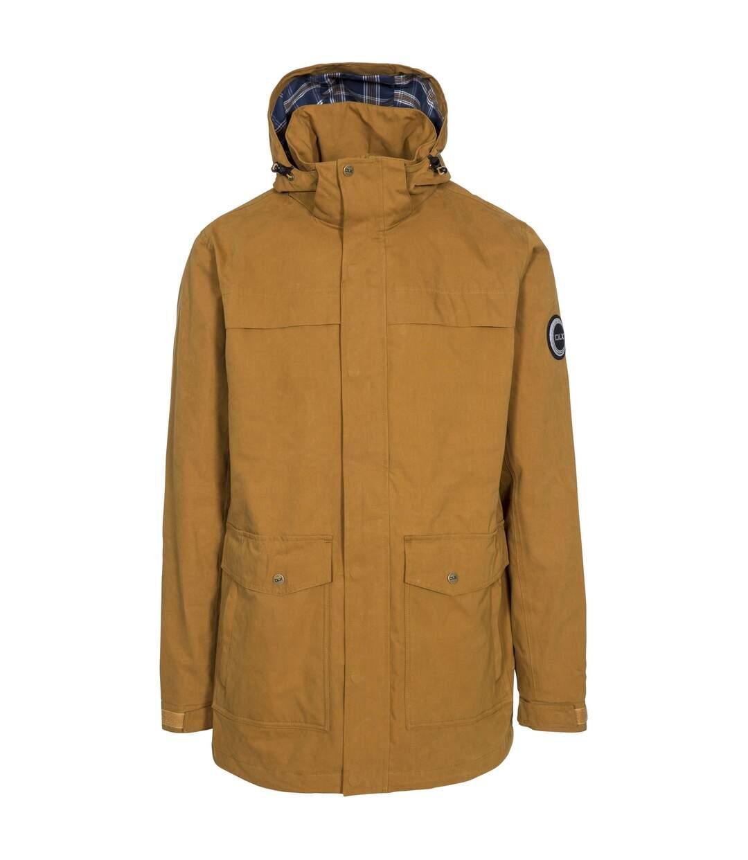 Trespass Mens Rowland Waterproof Jacket (Golden Brown) - UTTP4612