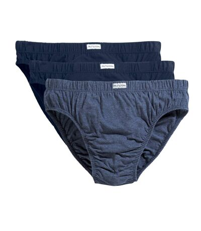 Fruit Of The Loom Mens Classic Slip Briefs (Pack Of 3) (Blues Mixed) - UTBC3360