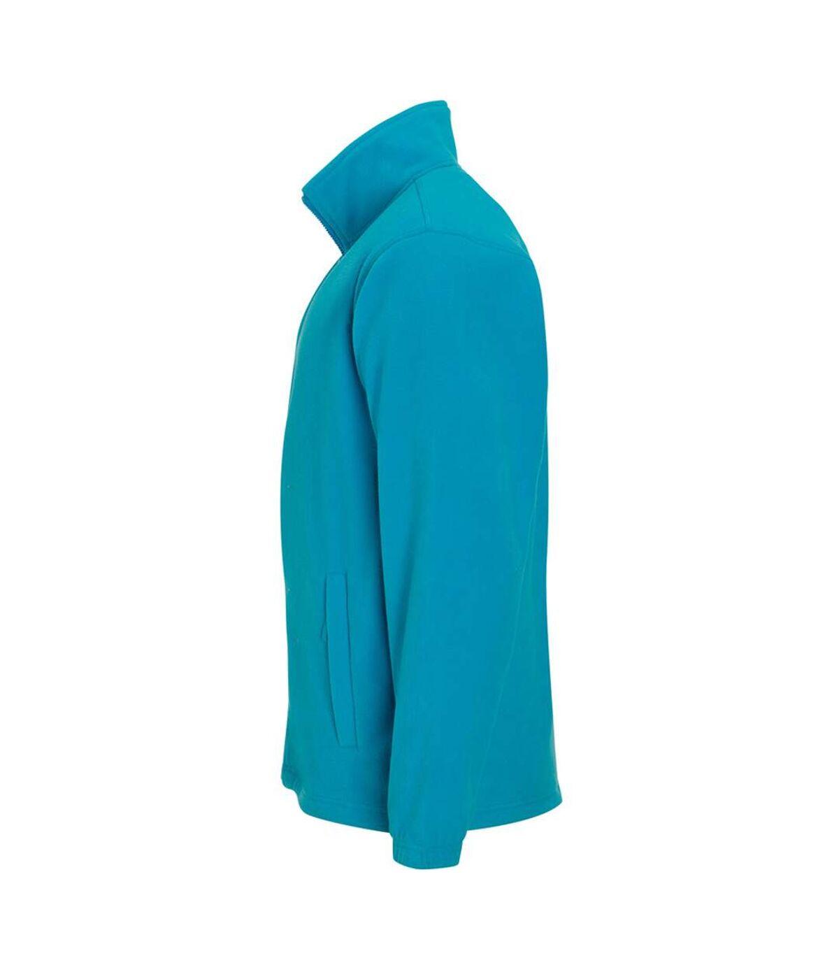 SOLS Mens North Full Zip Outdoor Fleece Jacket (Aqua) - UTPC343