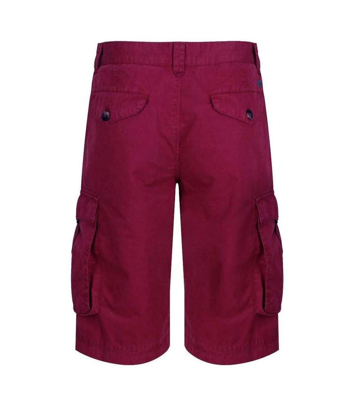 Regatta Mens Shorebay Vintage Cargo Shorts (Delhi Red) - UTRG4167