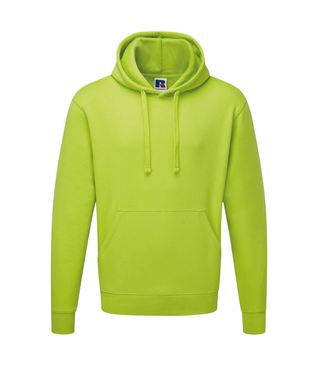 Russell Mens Authentic Hooded Sweatshirt / Hoodie (Convoy Grey) - UTBC1498