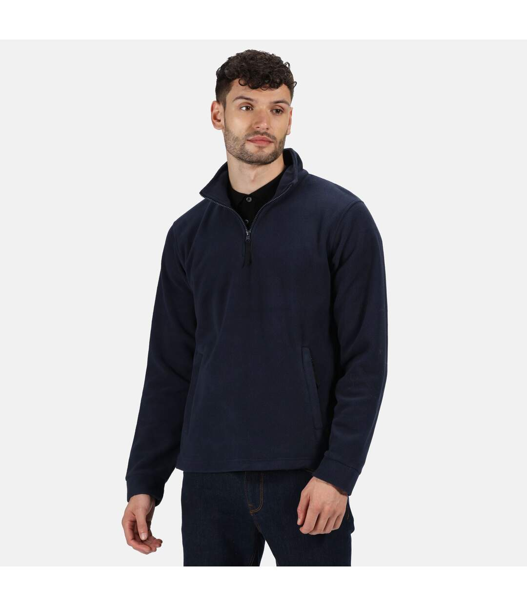 Regatta Great Outdoors Unisex Thor Overhead Half Zip Anti-Pill Fleece Sweater (170 GSM) (Dark Navy) - UTRG1842