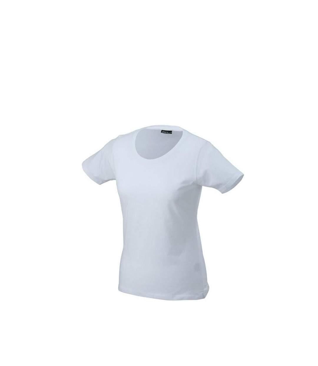 James And Nicholson - T-Shirt - Femme (Blanc) - UTFU103