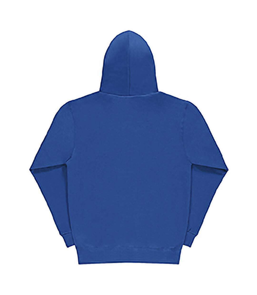 SG Mens Plain Hooded Sweatshirt Top / Hoodie (Royal) - UTBC1072