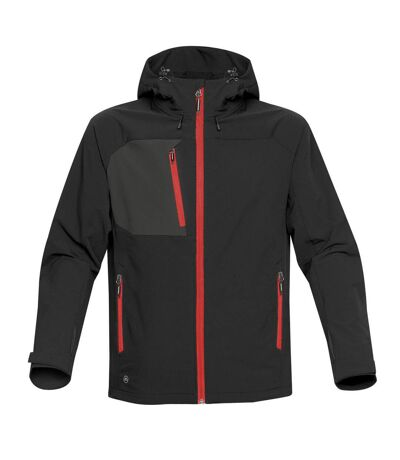 Stormtech Mens Sidewinder Shell Jacket (Black/Bright Red) - UTBC3879