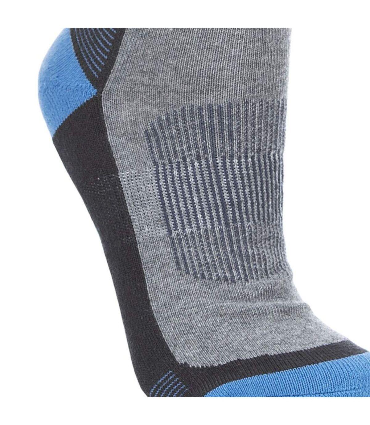 Trespass Mens Deeper Padded Hiking Boot Socks (1 Pair) (Cobalt) - UTTP324