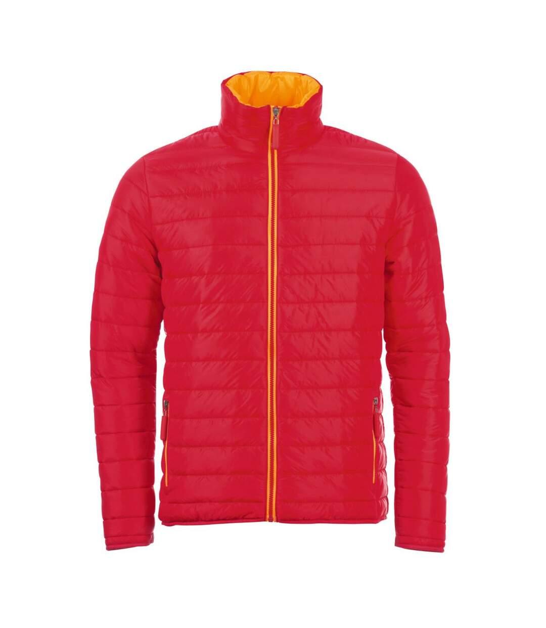 SOLS Mens Ride Padded Water Repellent Jacket (Red) - UTPC2168