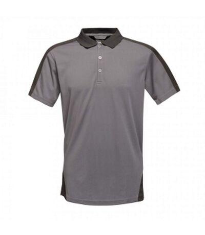 Regatta Mens Contrast Coolweave Polo Shirt (Classic Red/Black) - UTRG3573