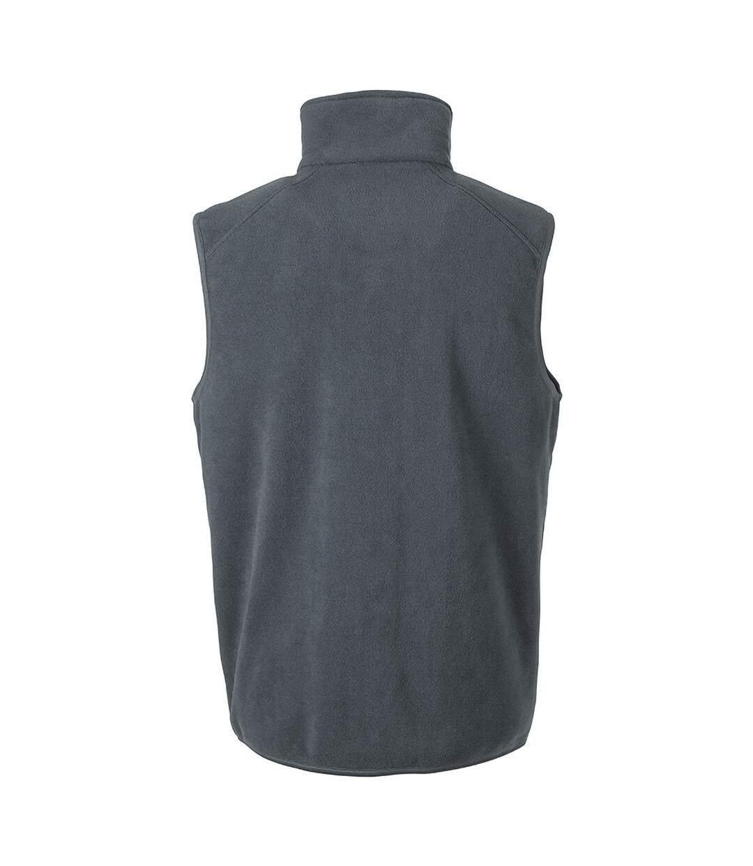 Result Core Mens Micro Fleece Gilet (Charcoal) - UTPC3013