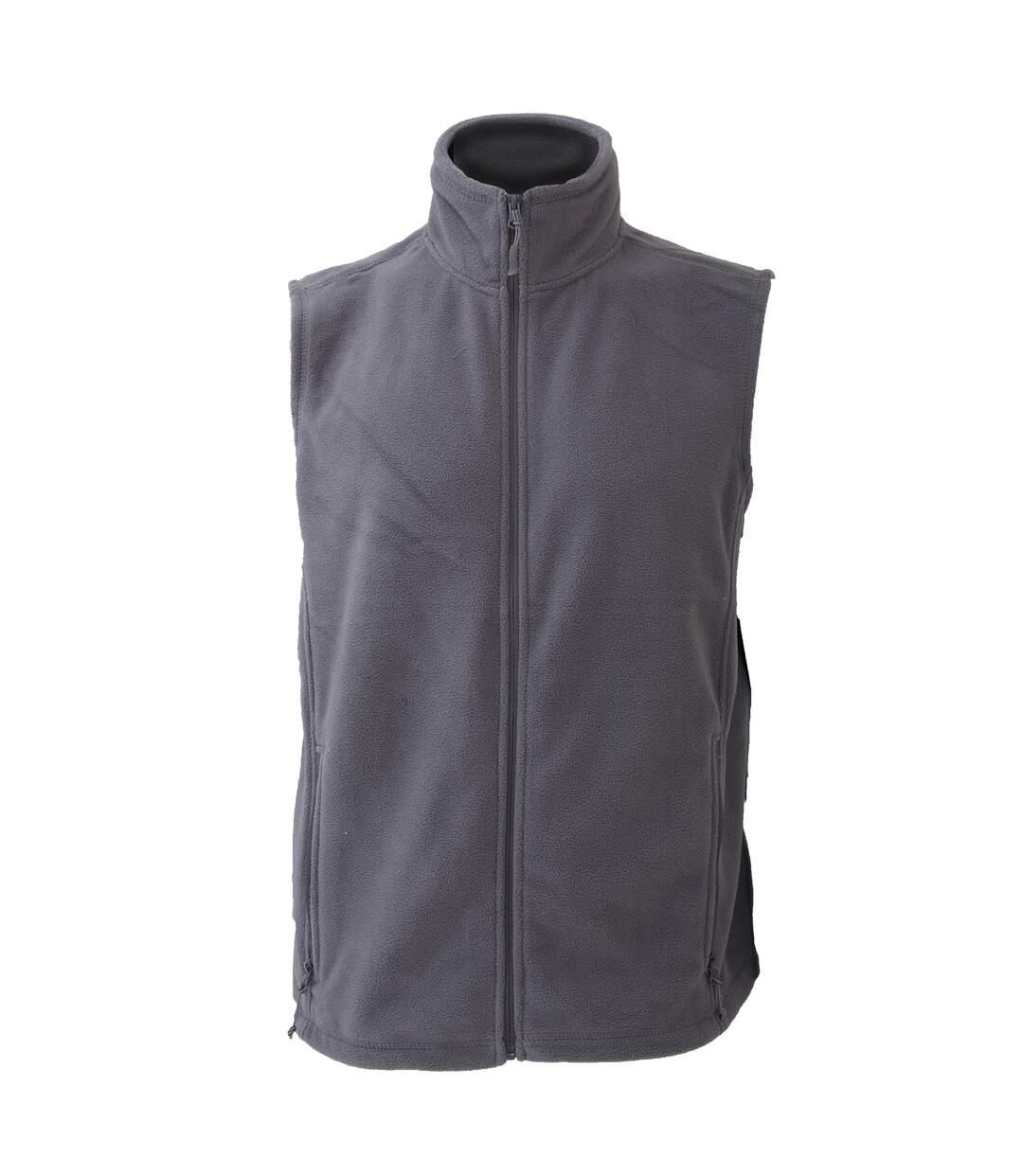 Jerzees Colour Fleece Gilet Jacket / Bodywarmer (Burgundy) - UTBC576