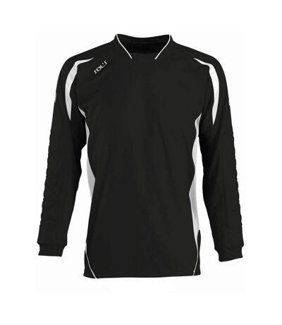 Sols Azteca - T-Shirt De Gardien De But De Football À Manches Longues - Homme (Noir/Blanc) - UTPC467
