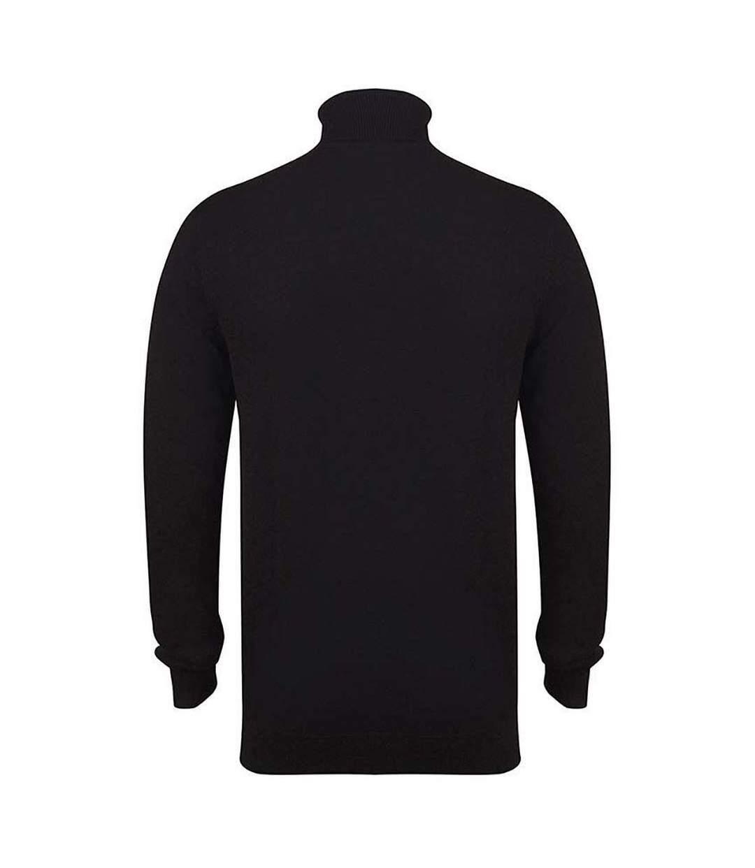 Henbury - Pull à col roulé - Homme (Noir) - UTRW5288