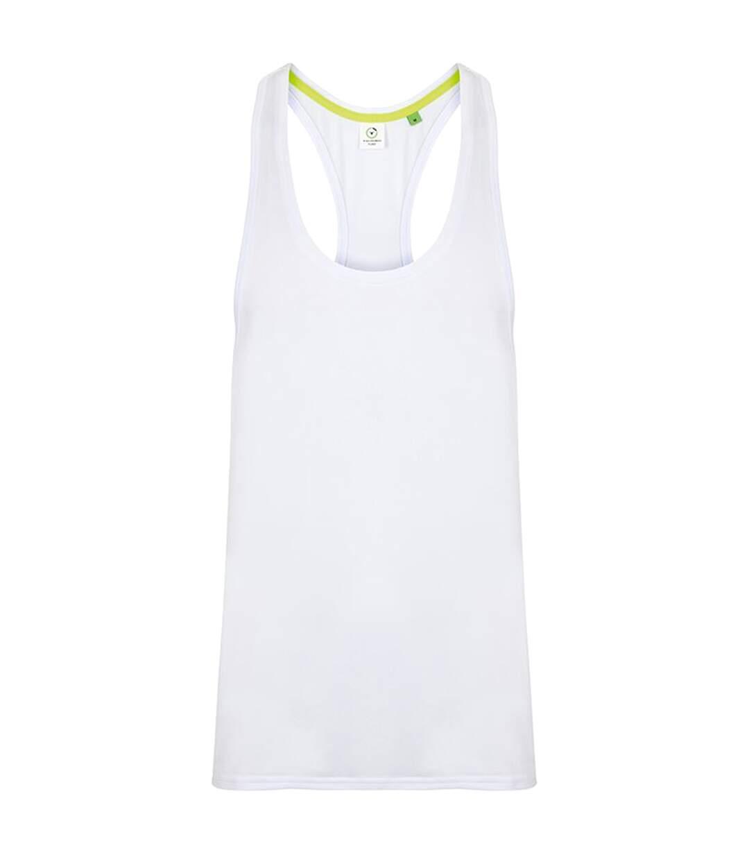 Tombo Mens Muscle Vest (Grey Marl) - UTRW5472