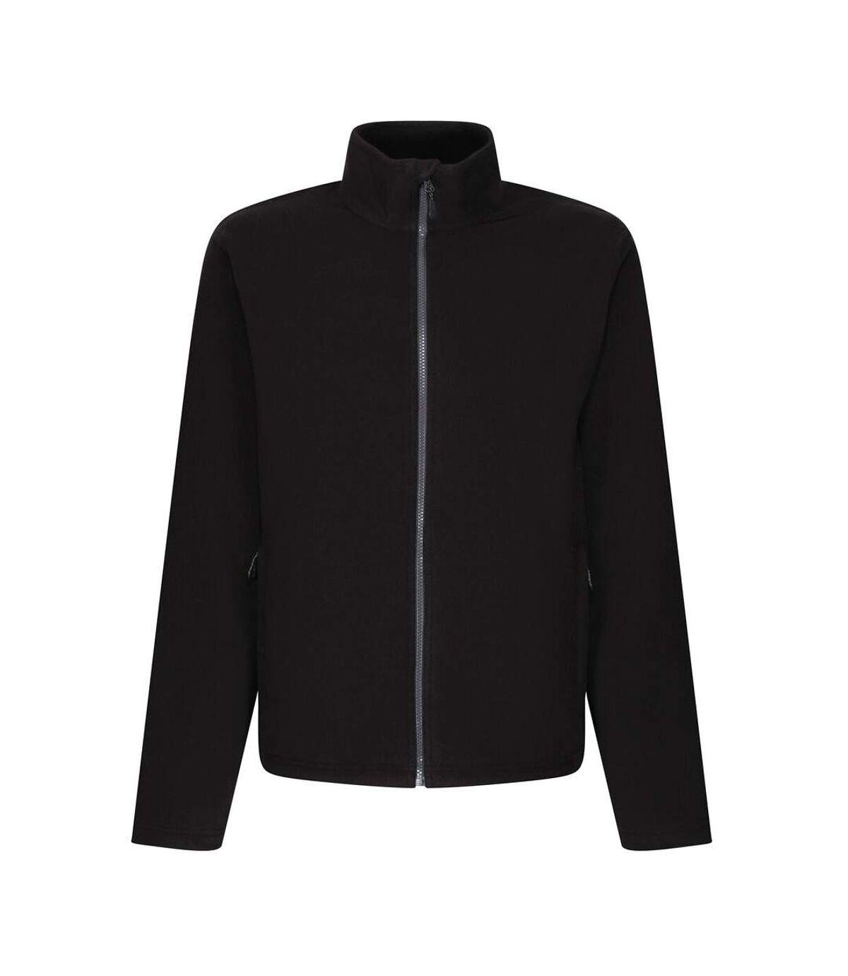 Regatta Mens Honestly Made Fleece Jacket (Black) - UTRG5554