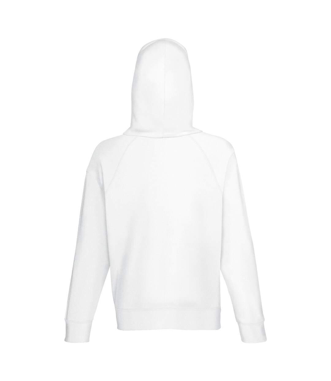 Fruit Of The Loom - Sweatshirt À Capuche Léger - Homme (Blanc) - UTBC2654