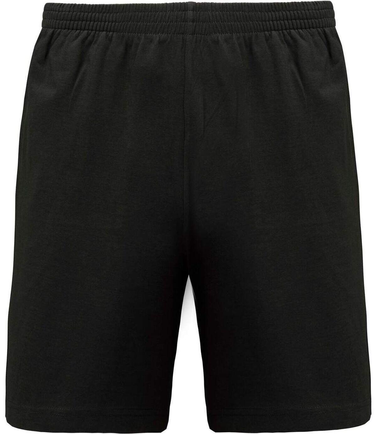 short jersey Homme - PA151- gris foncé