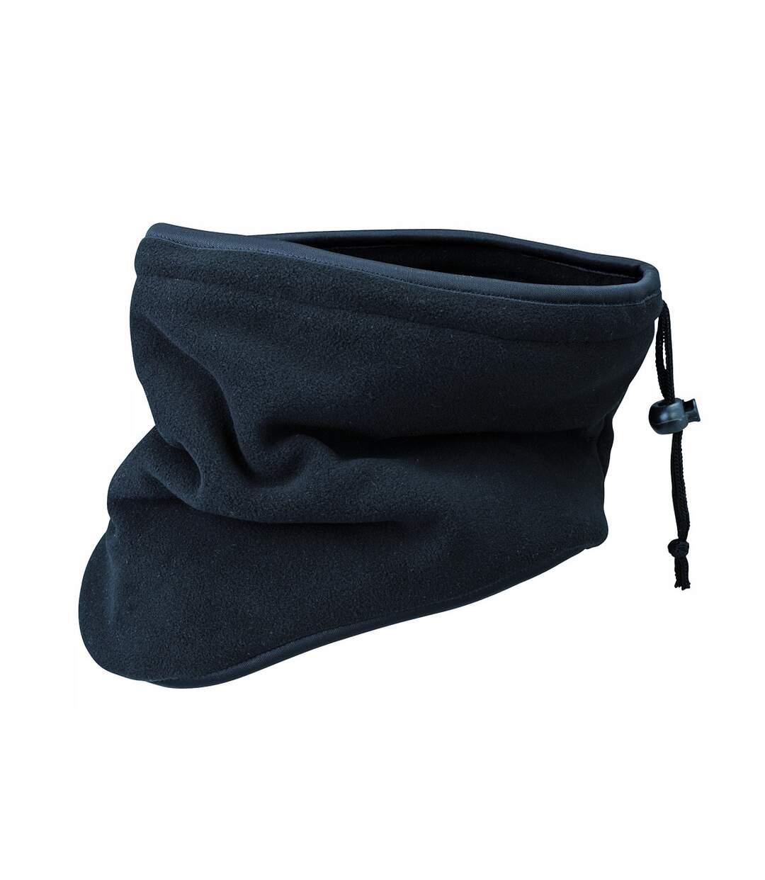 Tour de cou écharpe cache-nez polaire - MB7930 - noir