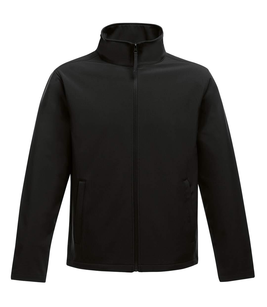 Regatta Standout Mens Ablaze Printable Softshell Jacket (Black) - UTRW6353