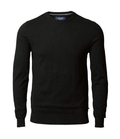 Nimbus Mens Lowell Knitted Cashmere Blend Jumper (Black) - UTRW5337