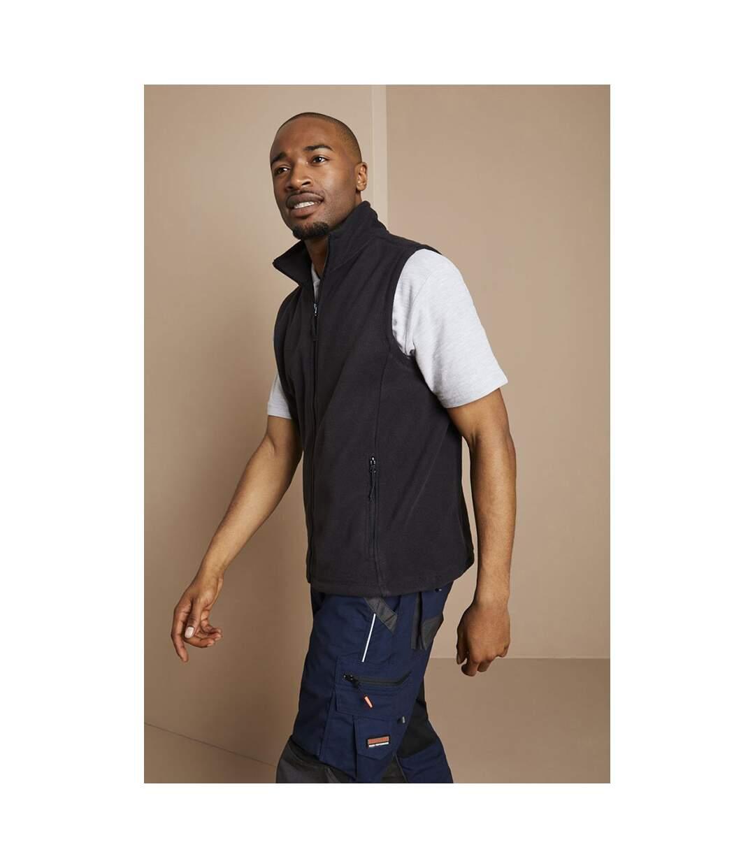 Jerzees Colour Fleece Gilet Jacket / Bodywarmer (Black) - UTBC576