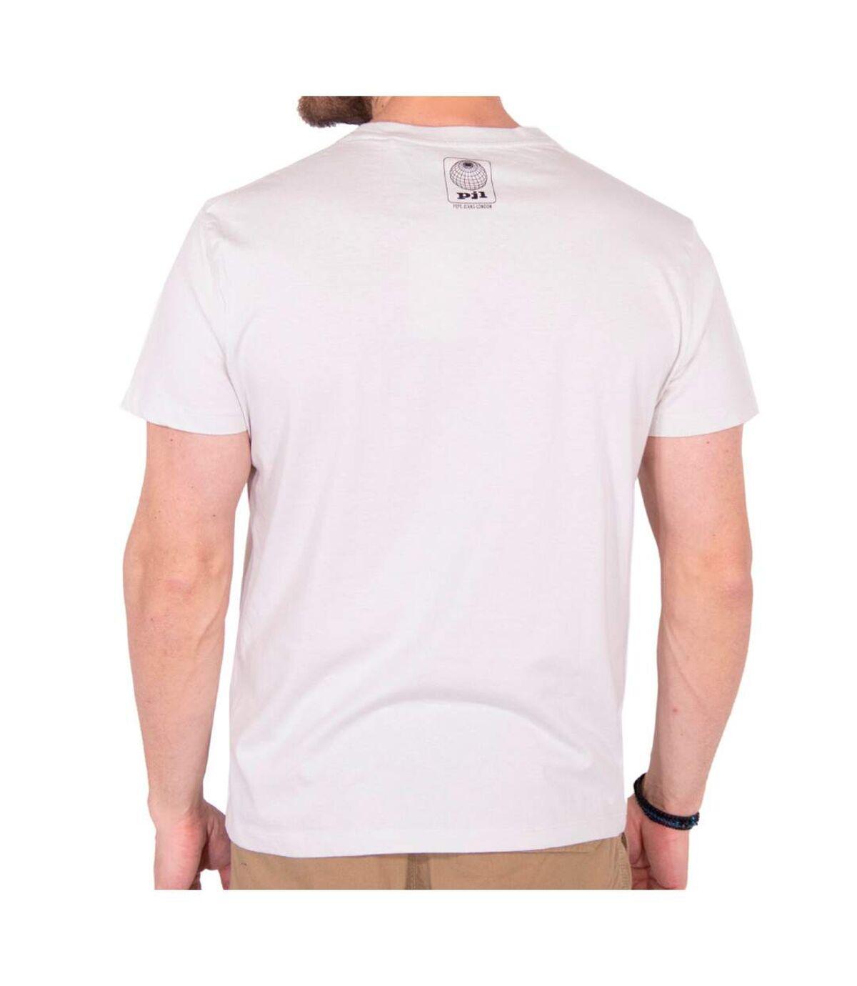 T-Shirt blanc homme Pepe Jeans Berwick