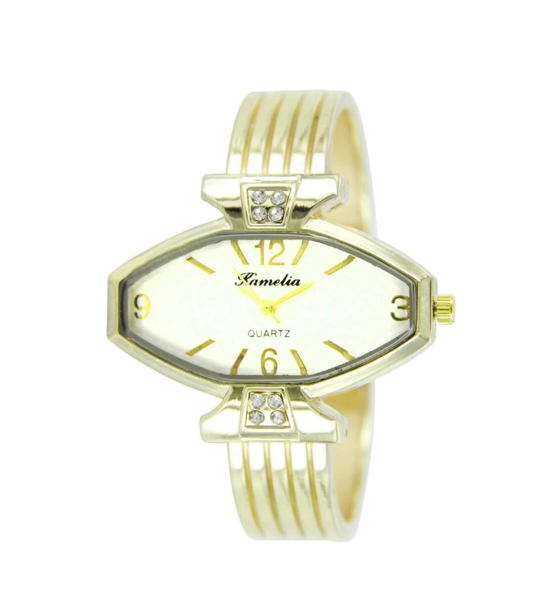 Montre Femme CAMELIA bracelet Acier Doré