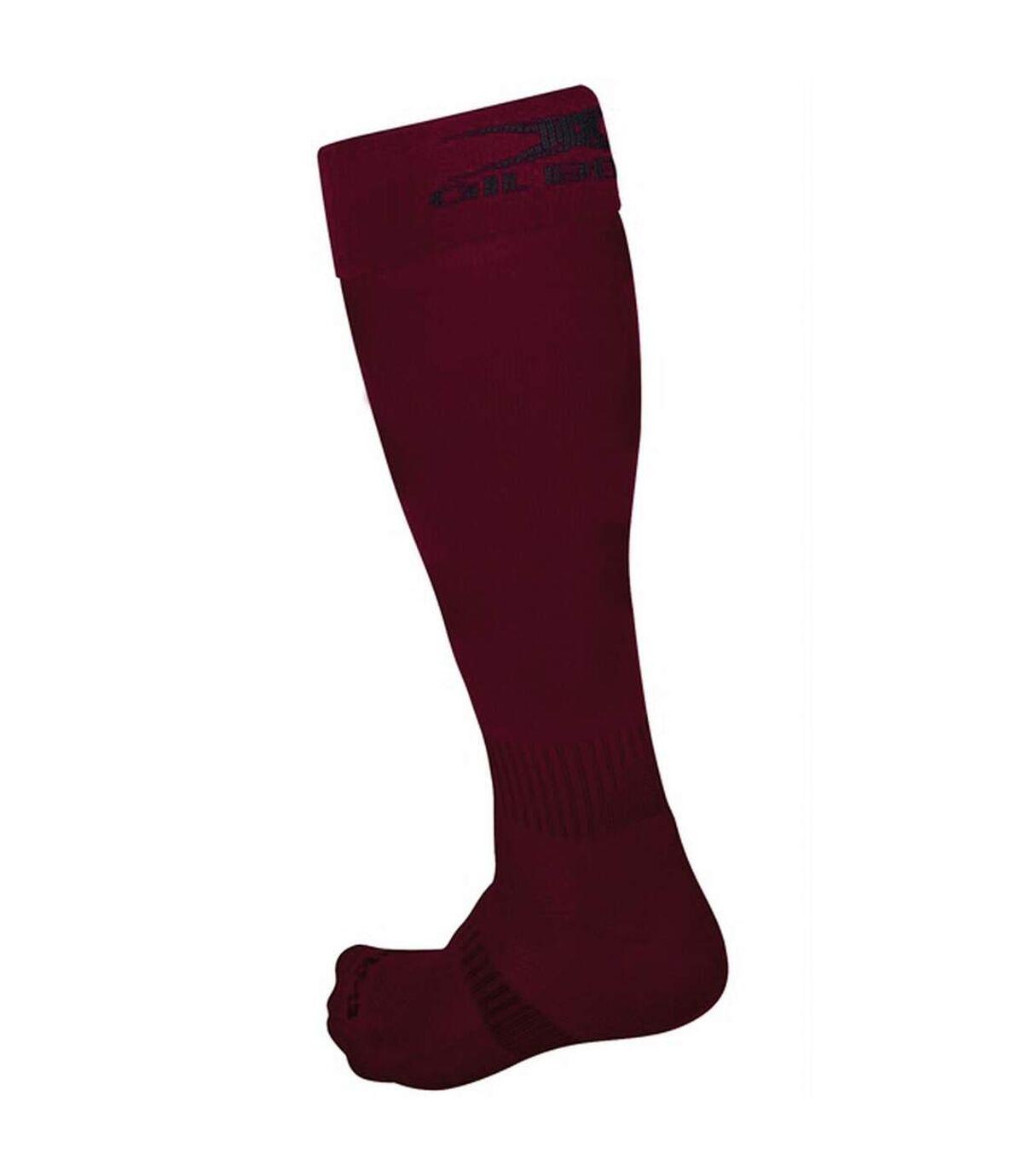 Gilbert Rugby Mens Kryten II Rugby Socks (Maroon) - UTRW5401